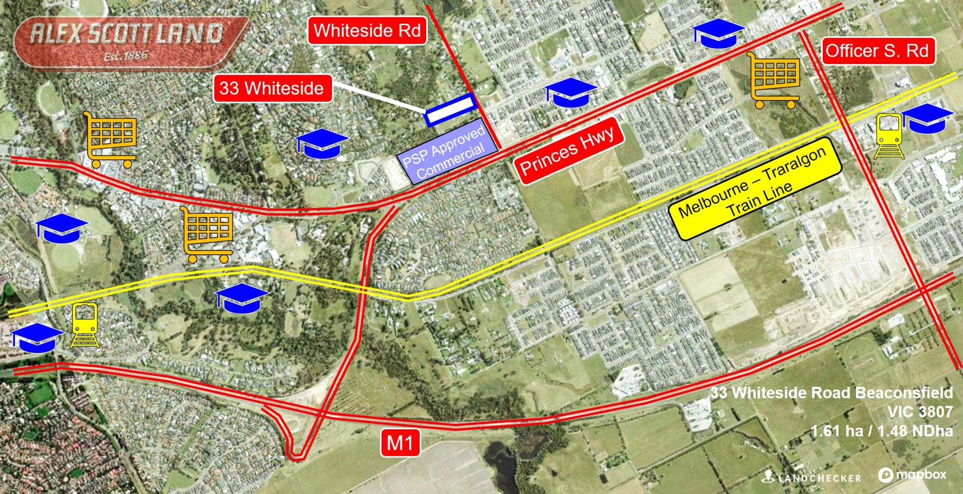 33 WHITESIDE Road, Beaconsfield, VIC  3807