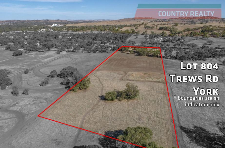 Lot 804 Trews Road, York WA